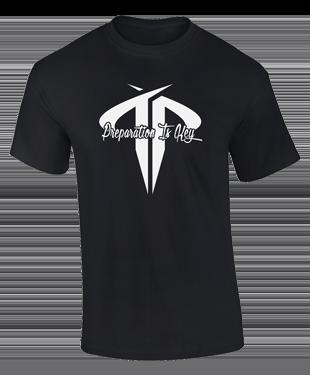 Team Preparation - Black T-Shirt