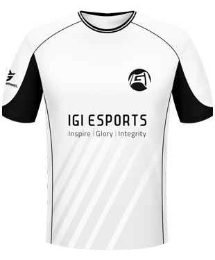 IGI eSports - White - 2016-17 Player Jersey