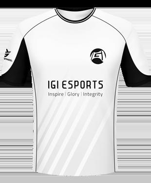 IGI eSports - White - 2016-17 Player Jersey