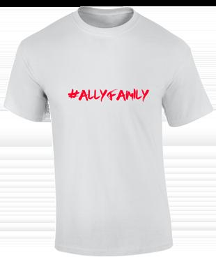 Ally eSports  - Cotton T-Shirt White