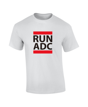 RUN ADC - Red - Unisex Tee