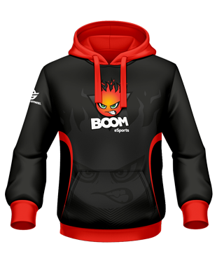 Boom eSports - Hoodie (Polyester)