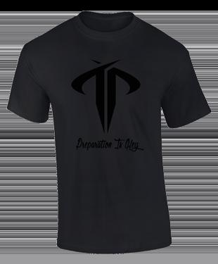 Team Preparation - Blackout T-Shirt