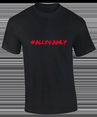 Ally eSports  - Cotton T-Shirt Black