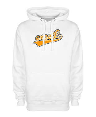 exceL eSports - Hoodie without Zipper - White