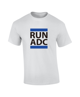 RUN ADC - Blue - Unisex Tee