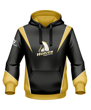 Wolves eSports - Player Hoodie (Polyester)
