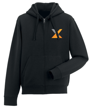 exceL eSports - Hoodie with Zipper - Black