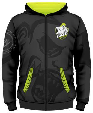 Rize Gaming Hoodie (with Zipper)