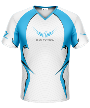 Team Ascension - Player Replica Short Sleeve Jersey - 2016