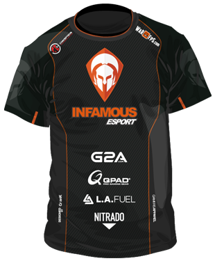 InFamous eSports - Short Sleeve Jersey