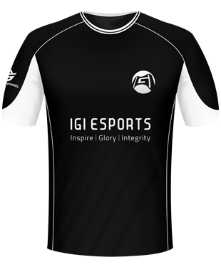 IGI eSports - Black - 2016-17 Player Jersey