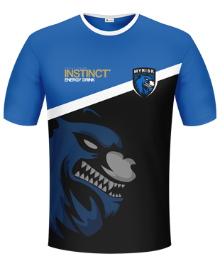 myRisk Gaming  - Player Short Sleeve Jersey