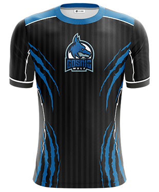 Cosmic Wolf - Short Sleeve Esports Jersey