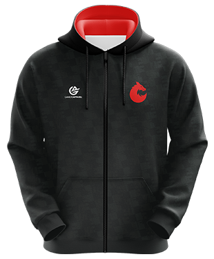 Esports Wales - Esports Hoodie with Zipper