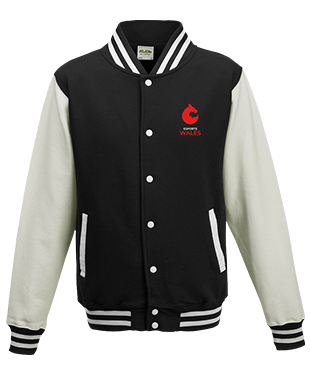 Esports Wales - Varsity Jacket