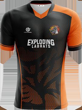 Exploding Labrats - Short Sleeve Esports Jersey