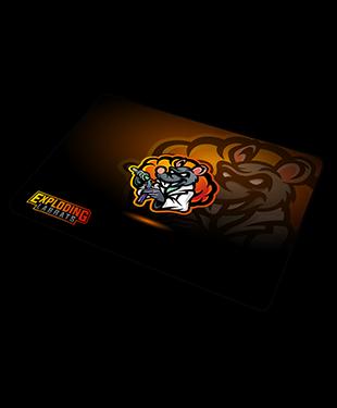 Exploding Labrats - Gaming Mousepad