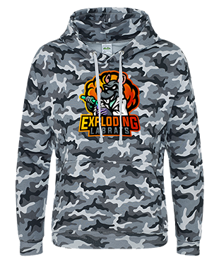 Exploding Labrats - Camo Hoodie