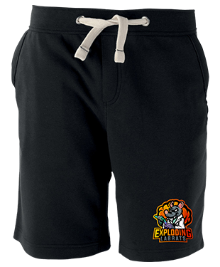 Exploding Labrats - Fleece Shorts