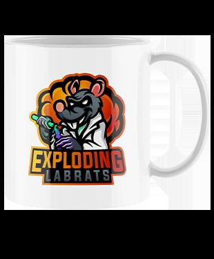 Exploding Labrats - Mug