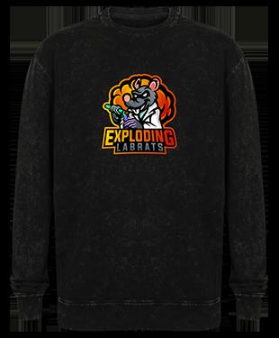 Exploding Labrats - Washed Sweatshirt