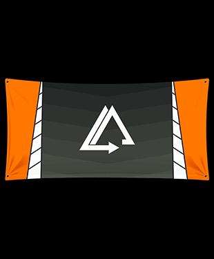 Forward Motion - Wall Flag
