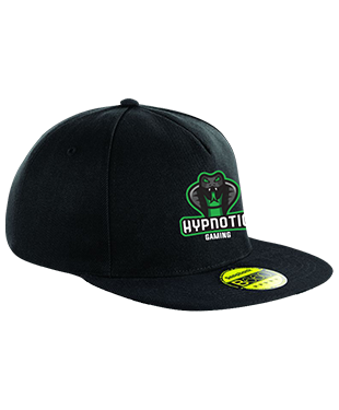 Hypnotic Gaming - Original Flat Peak Snapback Cap