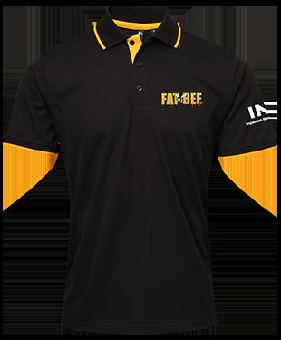 Imperium News - Contrast Polo Shirt