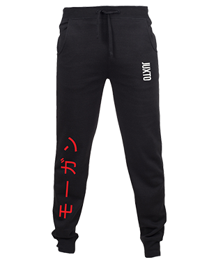 Juxto - Slim Cuffed Jogging Bottoms