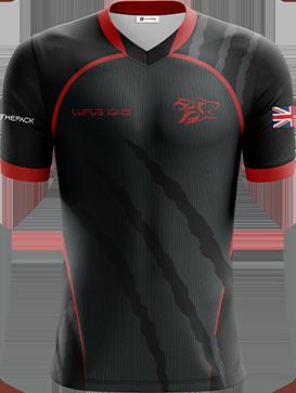 Lupus Ignis - Short Sleeve Esports Jersey