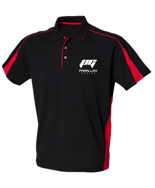 Parallax Gaming - Club Poly/Cotton Piqu? Polo Shirt