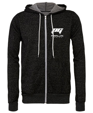 Parallax Gaming - Unisex Hoodie with Zipper