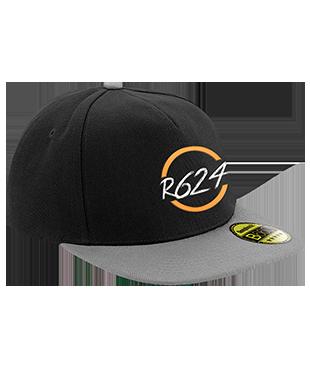 R624 - Original Flat Peak Snapback Cap