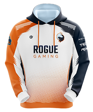 Rogue Gaming - Esports Hoodie without Zipper