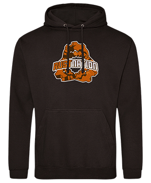 Rust Nation - Casual Hoodie