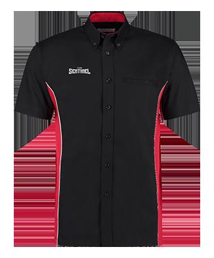Team Sentinel - Short Sleeve Classic Fit Sportsman Shirt