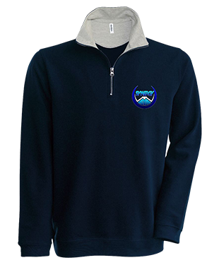 Synergy Esports - Trucker Zip Neck Sweatshirt