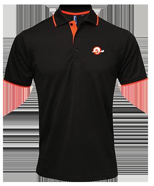 TBR - Contrast Polo Shirt