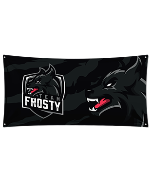 Team Frosty - Wall Flag