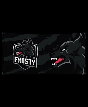 Team Frosty - Wall Flag