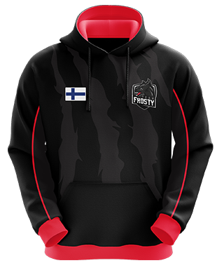 Team Frosty - Esports Hoodie without Zipper
