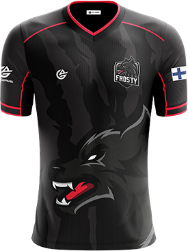 Team Frosty - Short Sleeve Esports Jersey