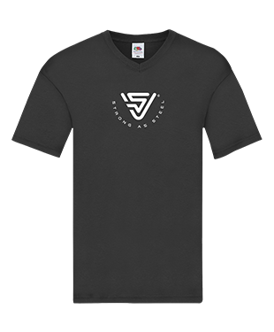 Virtual STEEL - V Neck T-Shirt