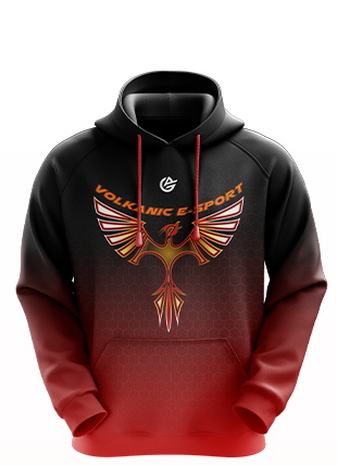 Volkanic Esports - Esports Hoodie without Zipper