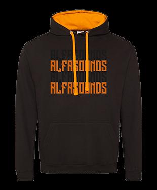 Alfasounds - Varsity Hoodie - Text
