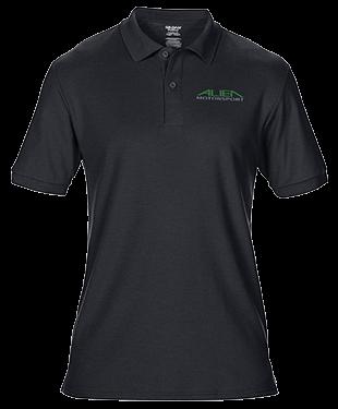 AMS Motorsports - DryBlend® Double Piqué Polo Shirt
