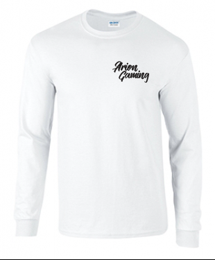 Arion Gaming - White Long Sleeve T-Shirt
