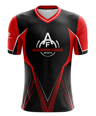 Austrian Force - Short Sleeve Esports Jersey