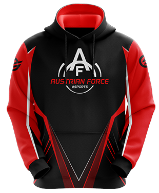 Austrian Force - Esports Hoodie with Zipper